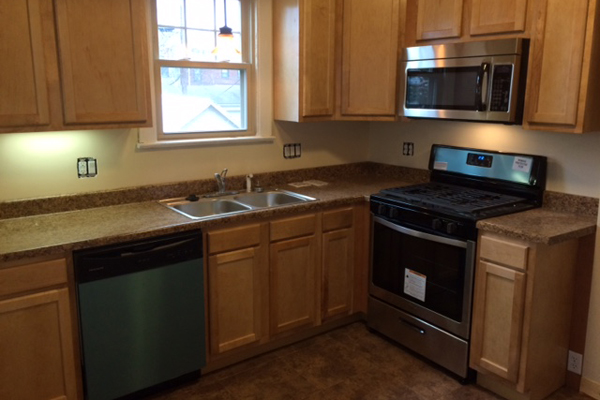 updated kitchen clintonville